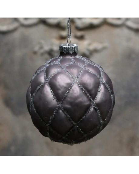 Bombka świąteczna plum