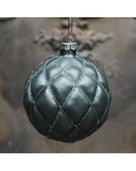 Bombka świąteczna bottle green