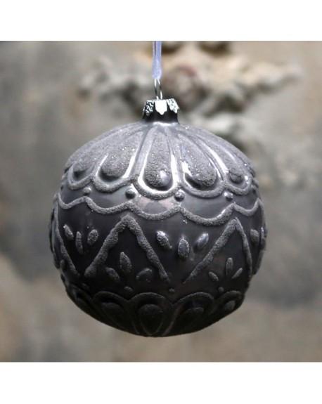 Bombka świąteczna z wzorem plum