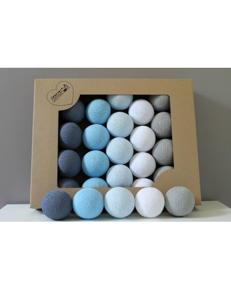 Cotton Balls Blue Wind 50 szt.