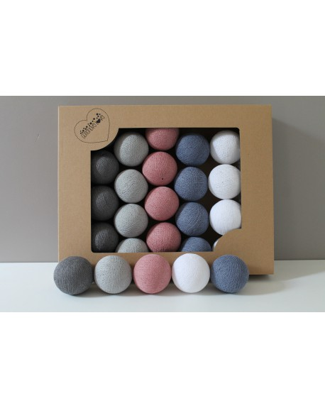 Cotton Balls Evening Glow 50 szt.
