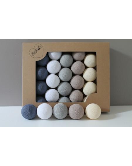 Cotton Balls Winter Memories 50 szt.