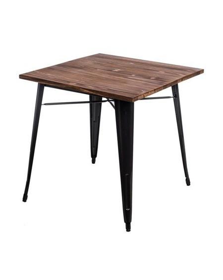 Stół Metalove Wood szary sosna