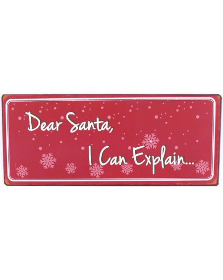 Szyld Dear santa, i can explain...