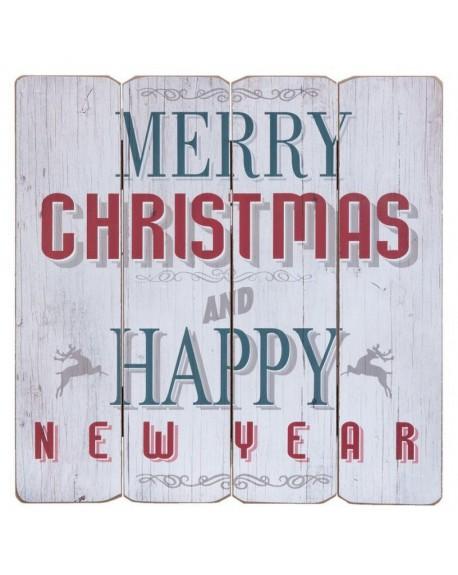 Tablica drewniana Merry Christmas
