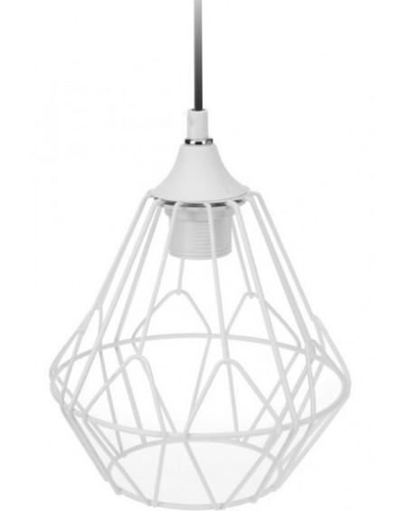 Lampa geometryczna biała II