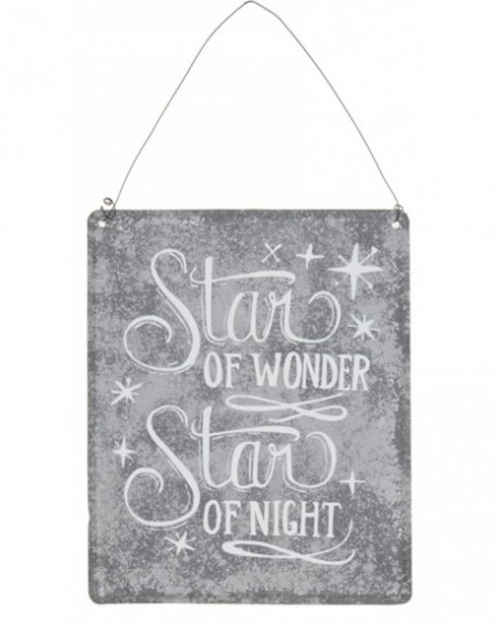 Tabliczka metalowa STAR OF WONDER
