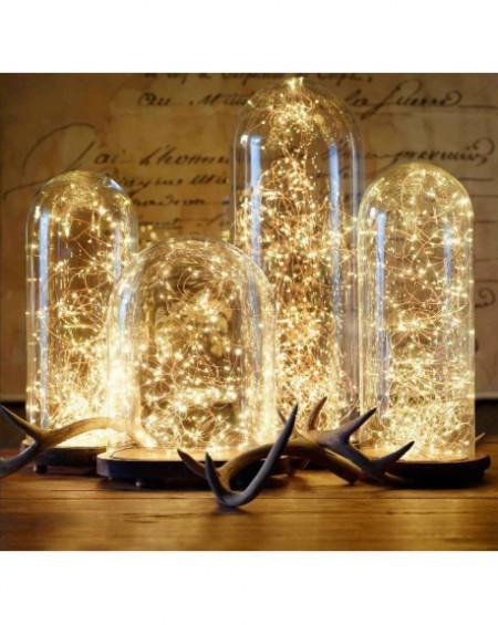 Kropelki światła - łańuch 20 LED na baterie ZIMNE