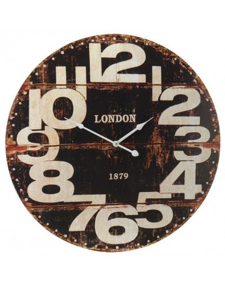 Zegar ścienny LONDON czarny