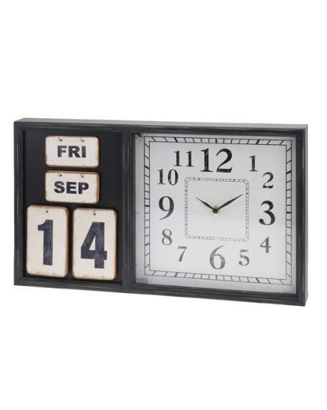 Zegar ścienny z kalendarzem