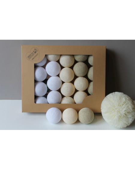 Cotton Balls Perłowe