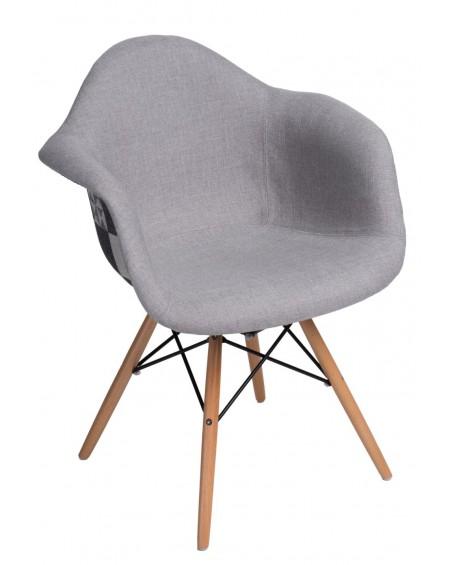 Krzesło Creatio DUO szare-patchwork
