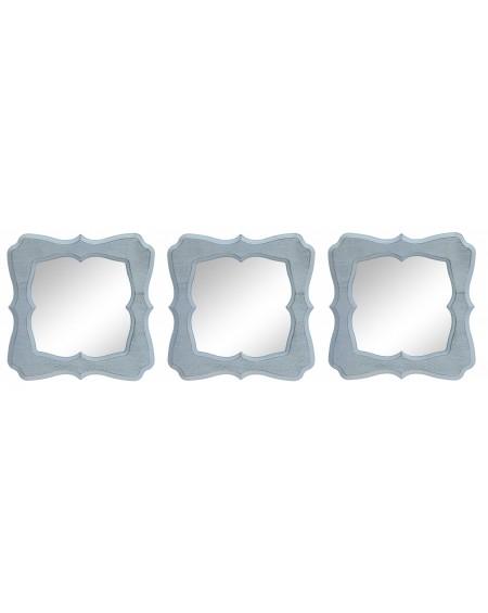 Lustro 3 częściowe białe