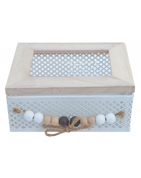Pudełko z koralikami HOME małe