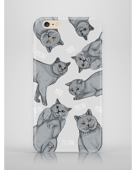 Etui na telefon British Cat Lover