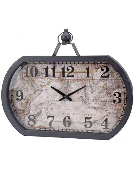 Zegar ścienny Mapa