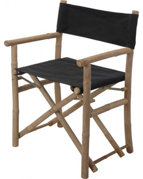 Krzesło ogrodowe czarne