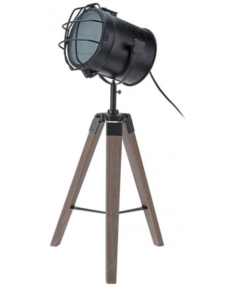 Lampa reflektor na trzech nogach