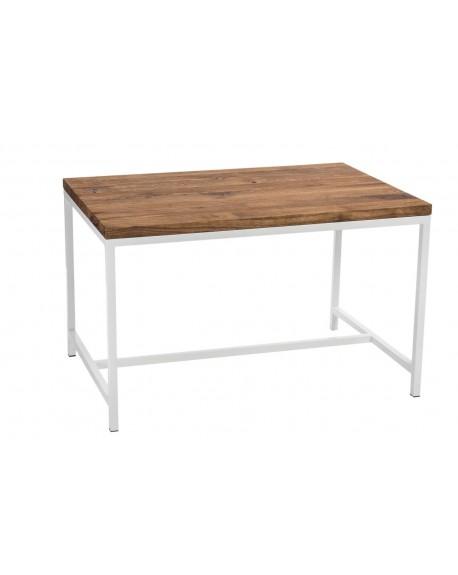 Stół Wodden biały dąb szczotkowany