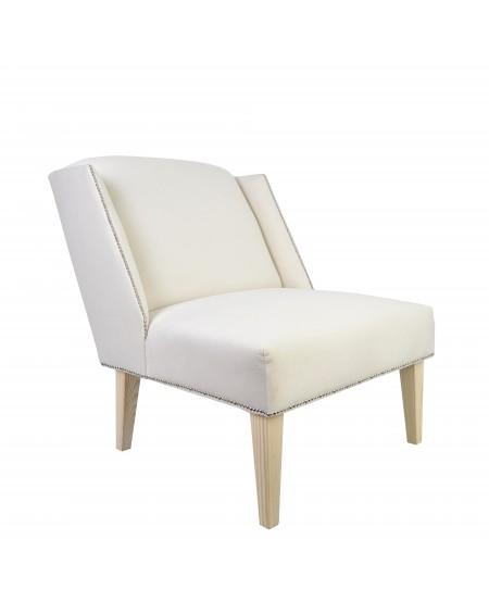 Fotel z tasiemką pinezkową Nesc