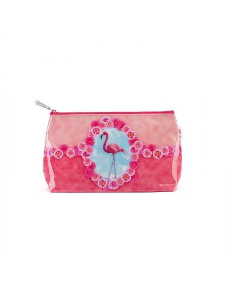 Kosmetyczka Flamingos