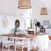 Dzień dobry w weekend! Krzesła Wood i wiklinowe lampy czekają na Was na MIAhome.pl ☺️ Uwielbiamy styl boho ❤️ #bohostyle #bohoinspired #bohointeriors #stylboho #shopping #onlinestore